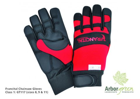 Francital Chainsaw Gloves Class 1 - Size 8 (Small)