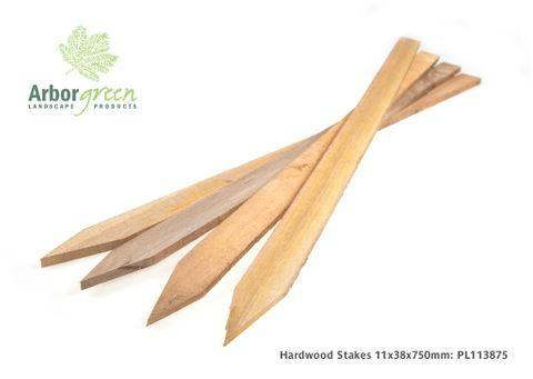 Hardwood Stakes 11 x 38 x 750mm - Australian