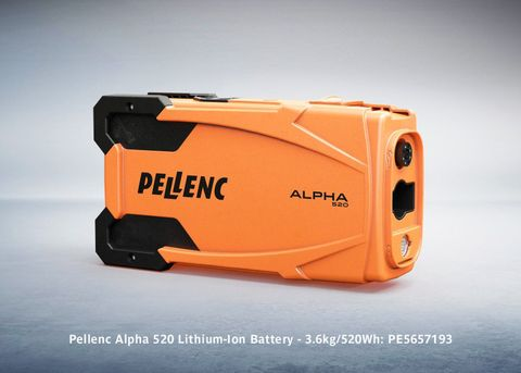 Pellenc Alpha 520 Lithium-Ion Battery - 3.6kg/520Wh (Battery only)