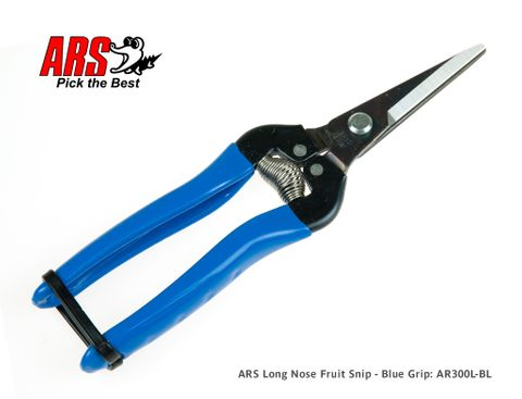 ARS Long Nose Fruit Snip - Blue Grip