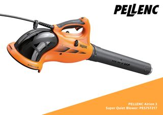 Pellenc Airion 3 Super Quiet Blower