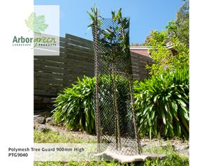 Polymesh Tree Guard 400mm Wide x 900mm High, Black