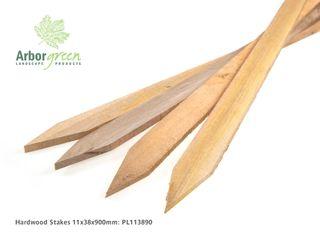 Hardwood Stakes 11 x 38 x 900mm