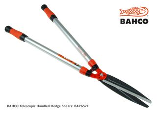 BAHCO Telescopic Handled Hedge Shears