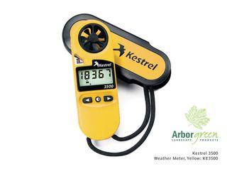 Kestrel 3500 Weather Meter, Yellow