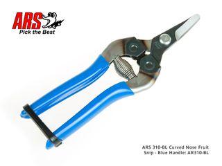 ARS Curved Nose Snip - Blue Grip
