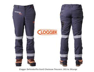 Clogger DefenderPro Trousers - 2XLarge, 105-111cm (was T21DP2XL)