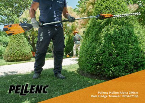 Pellenc Helion Alpha 240cm Pole Hedge Trimmer