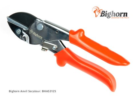 BIGHORN Anvil Secateur - NEW VERSION