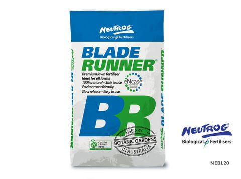 Neutrog Blade Runner Lawn Fertiliser - 20kg Bag