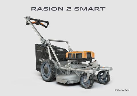 Pellenc Rasion 2 SMART Electronic Lawn Mower