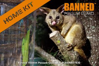 Banned 930mm Possum Guard, Home 5m Kit, 5 joiners