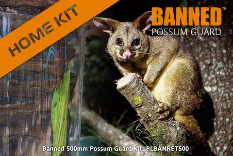 Banned 500mm Possum Guard, Home 5m Kit, 5 joiners