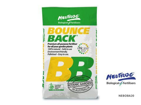 Neutrog Bounce Back Pelletised Composted Manure - 20kg Bag