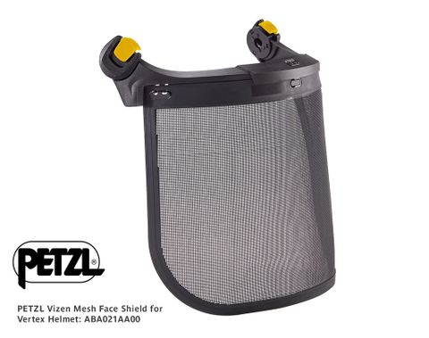 Petzl Vizen Mesh Face Shield for Vertex Helmet
