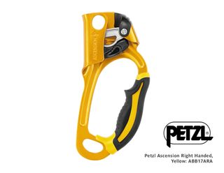 Petzl Acsension Right Handed, Yellow (was ABASCE)