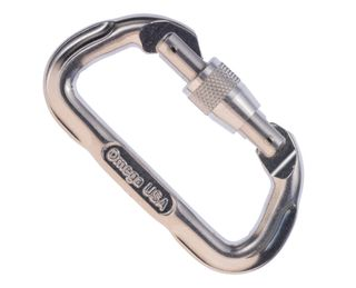 OMEGA 11mm Alloy Screw Carabiner (OPL6)