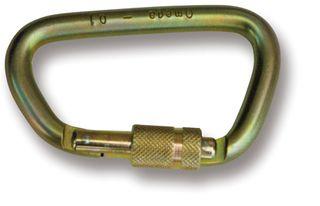 OMEGA OP76S38L Steel Dee Carabiner