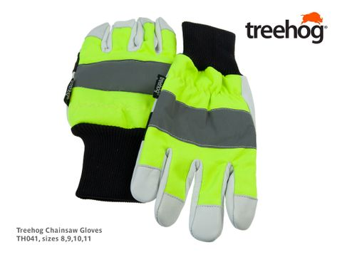 Treehog Chainsaw Gloves, Size 8  - Small (was AT850S)