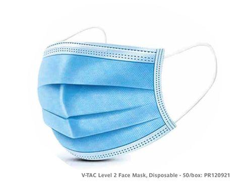 VTAC Level 2 Face Mask, Disposable - 50/box