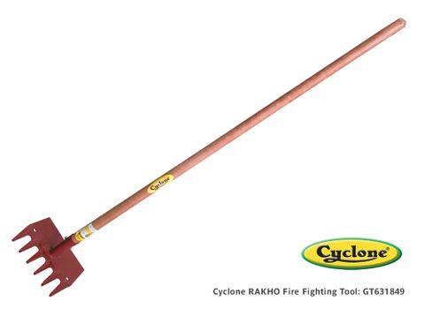 Cyclone Rakho Fire Fighting Tool