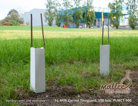 1L Milk Carton Treeguard - 500/Box