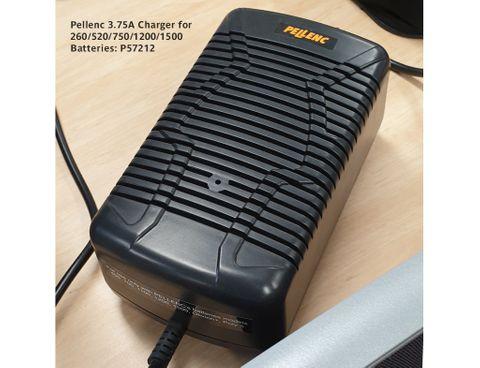 Pellenc 3.75A Charger for Alpha 260 & 520 & ULIB 750/1200/1500 Batteries