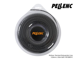 Pellenc Twisted Polyamide Line 3.0mm x 56m Roll