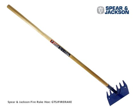 Spear & Jackson Fire Rake Hoe