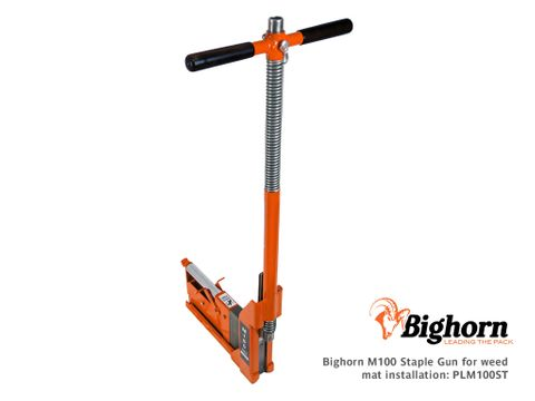 Bighorn M100 Staple Gun for Weed Mat