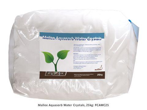 Mallee Aquasorb Water Crystals – 25kg bag