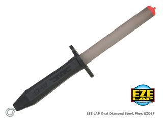 EZE-LAP Oval Diamond Steel, Fine, 13cm
