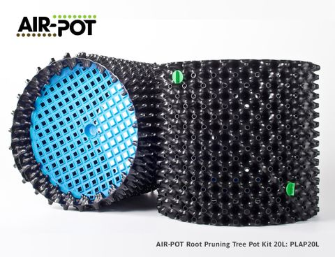 AIR-POT Root Pruning Tree Pot Kit 20L, 355mm diam, 315mm high