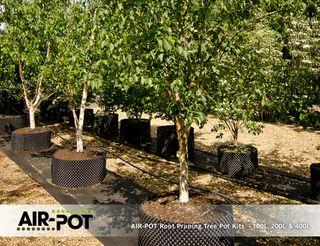 AIR-POT Root Pruning Tree Pot Kit 400L, 925mm diam (w/o base), 595mm high