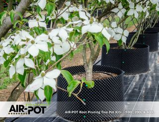 AIR-POT Root Pruning Tree Pot Kit 100L, 540mm diam (w/o base), 435mm high