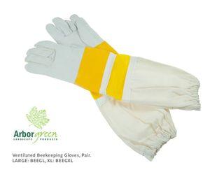 Beekeeping Gloves, Vented, Pair - Large