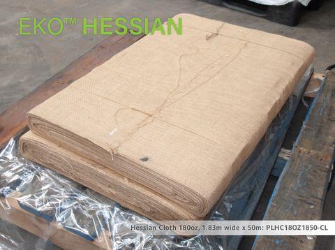 Hessian Cloth 18oz, 1.83m wide x 50m