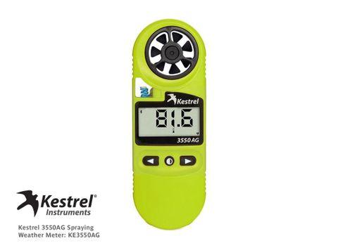 Kestrel 3550AG Spraying Weather Meter