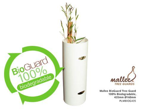 Mallee BioGuard Tree Guard, 100% Biodegradable, 435mm Ø160mm 150/pack