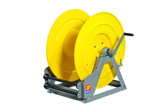 Meclube Hand rewind water hose reel 400bar Bare