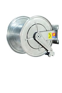 Meclube Spring rewind SS High pressure water hose reel 400bar Bare