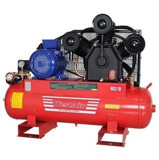 Westair 3 Phase Piston Compressor 35cfm 100ltr Tank