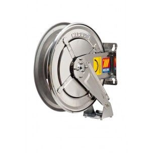 Meclube Spring rewind SS air/water hose reel 400bar Bare