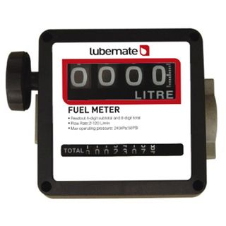 LUBEMATE MECHANICAL DIESEL METER - 1""