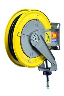 "Meclube Spring rewind High pressure water hose reel 600bar 10mtr x 1/4"""