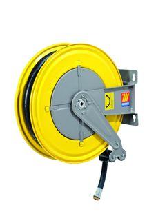 """Meclube Spring rewind diesel hose reel F-550 1"""" x 10m"""