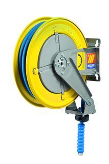 "Meclube Spring rewind High pressure water hose reel 400bar 10mtr x 1/2"""
