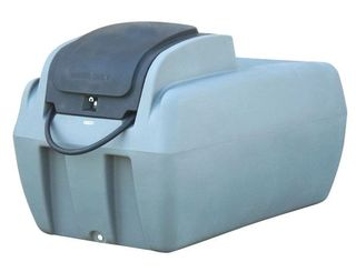 1000ltr Diesel Fuel Cube, c/w 12/24v Pump, Auto Nozzle and Baffle Balls