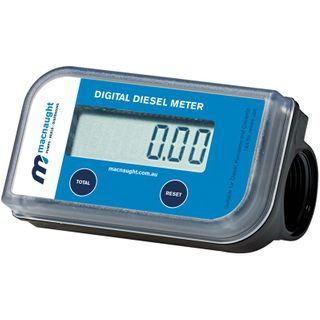 "MACNAUGHT  1"" TURBINE DIESEL FUEL METER"