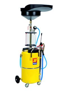 Meclube 90ltr Waste Oil Drainer with prechamber and bowl